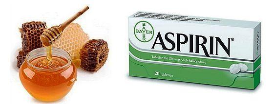 Аспирин с медом