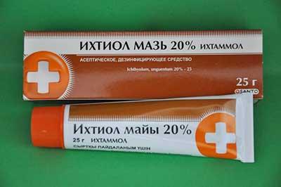 Ихтиол мазь - польза для кожи