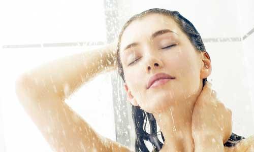 После солярия рекомендуется принять душ