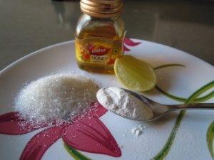 Маска-скраб с содой
