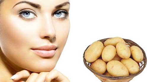 Применение картошки при лечении прыщей