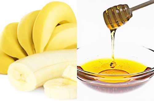 Маски для лица: банан и мед