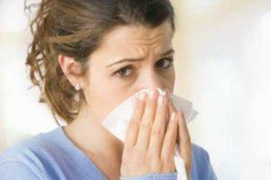 Прыщи от аллергии