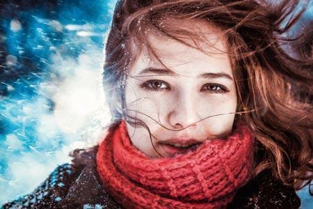 Сухая кожа от холода