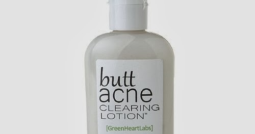 Butt Acne Clearing Lotion