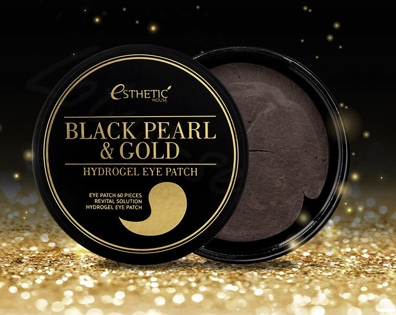 «Black Pearl & Gold Hydrogel Eye Patch» от Petitfee&Koelf патчи под глаза