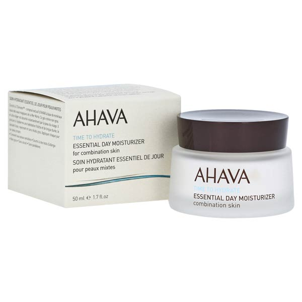 Ahava Essential Day Moisturizer Combination Skin Time to Hydrate